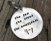 Twenty One Pilots Spoon Key Chain The Few The Proud The Emotional Fairly Local