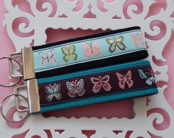 Butterflies Key Fob-You Choose
