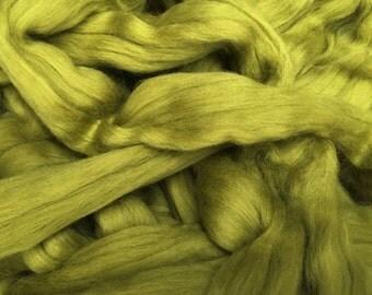 Lichen 4oz Merino Wool Top Roving Spinning/Felting/Blending