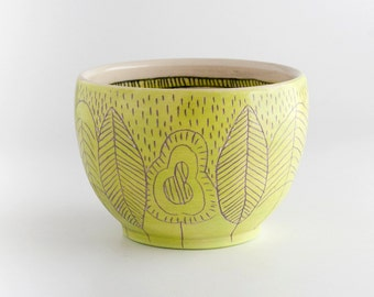 Trees - Cup - Yellow