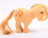 Vintage My Little Pony Flat Foot Butterscotch Pony - Flaw ~ Pink Room ~ 161123A