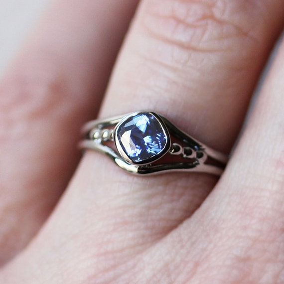 Tanzanite engagement ring white gold tanzanite ring gold