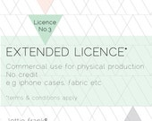 Extended Licence - No Credit - Commercial Use for Physical Production