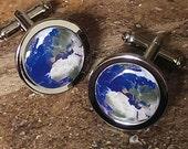 Ground Control.......... Planet Earth Cufflinks
