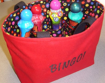 Bingo Supply Bag