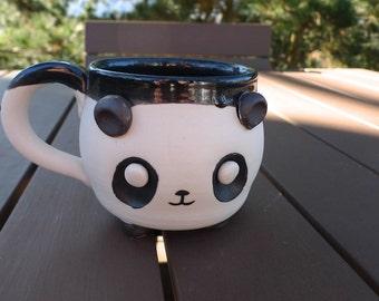 Happy Panda Mug in Porcelain