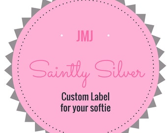Custom Label for Saint Softie