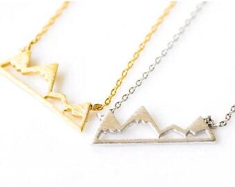 Mountain Bracelet, pendant