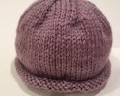 Silver Purple 0-3m Knit B...