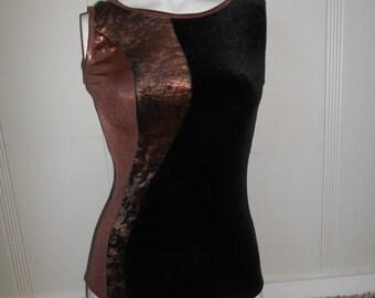 SALE 80s 90s Vintage velvet  bodysuit  leotard   clothing clothes