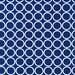 CLEARANCE 4.25 Yards Robert Kaufman Metro Living Navy Blue Circles Fabric