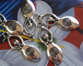 Spiral Goddess Pendant/ Charms-4, WHOLESALE PRICING