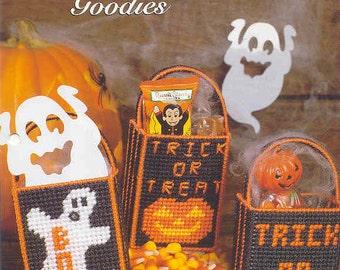 Halloween Goodies ~ plastic canvas pattern ~ The Needlecraft Shop