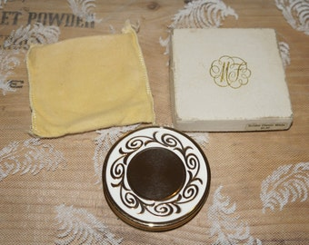 Max Factor creme puff Jewelers compact    Vintage Max Factor  refill compact