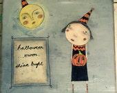 Halloween Moon Shine Bright