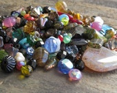 Czech Glass This n That Bead Mix : 50 Grams Bead Mix