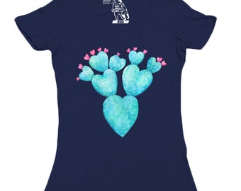 Desert Hearts Graphic Womens T-shirt,  XS-2XL Available