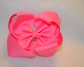 CLEARANCE Pink Bowtique Bow