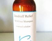SLS Free Shampoo Dandruff Relief 4 Ounces