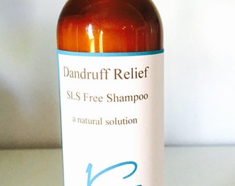 SLS Free Shampoo Dandruff Relief