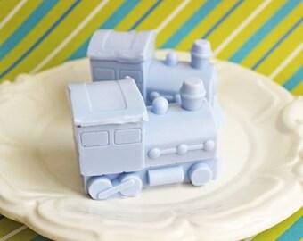 Train Soap - Kids Soap, Boys Soap, Choo Choo Train, Thomas Soap, Soap Favors, Stocking Stuffer, Peppermint Soap, Travel Soap, Novelty Gift