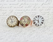 Watch Ring, Statement Ring, Watch Face, Clock, Steampunk Style Ring, Adjustable Ring, Gift For Woman, Timepiece Ring, Mothers Day Gift