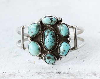 Cluster Turquoise Cuff