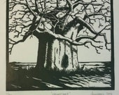 Kremetart - Original lino print