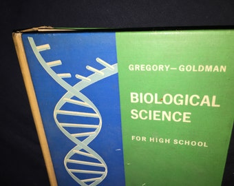 1965 Biological Science Text Book