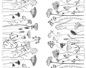 SALE - Knotgrass - IKEA Pilort Cotton Fabric
