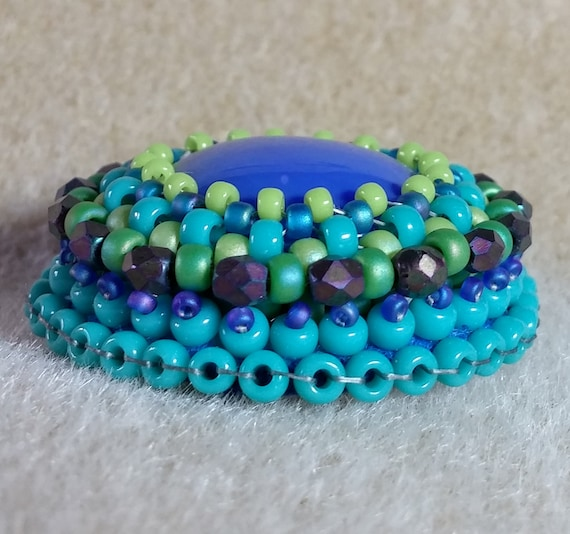 Beading tutorial bead embroidery for beginners from