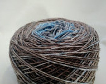 Cassatt Impressionist Panoramic Gradient, 100g Greatest of Ease, dyed to order