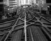 "Chicago "" L "" Intersection - Original Signed Fine Art Photograph"