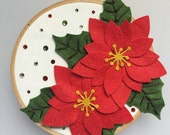 Poinsettias - Felt Flower...