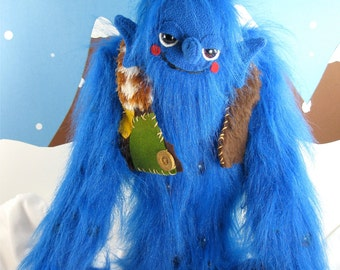 Argus the Mythical Giant Monster with 100 Eyes Plush Doll Toy