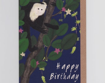 Happy Birthday Monkey | Greetings Card