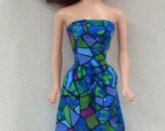 "11.5"" Fashion Doll Clothes - blue"