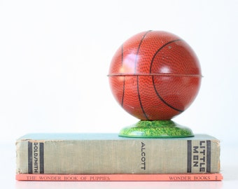 Vintage Basketball Bank, Void, Chein Globe
