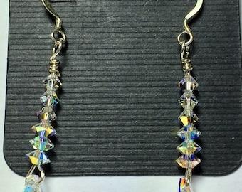 Crystal bling earrings