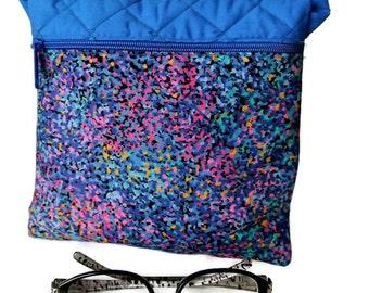 Confetti Small Cross Body Bag , Colorful Crossbody Bag , Womens Handbag , Purse for Her , Gifts under 30