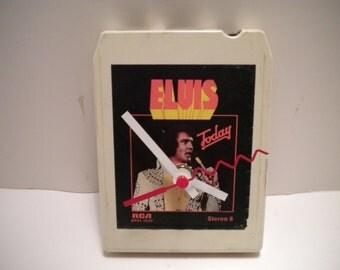 Elvis.... 8 Track Tape Clock