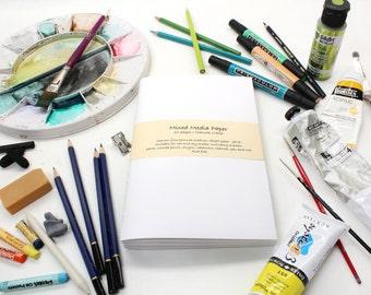 Mixed Media Paper Journal Refill