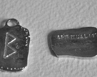 Rune-Norse-Celtic-Gallen Choice of Rune Symbol Pendant Serenity,Protection,Wealth,Love,Strength,Courage,Spirituality,Warrior,Wisdom,Power