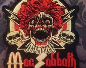 Mac Sabbath patch embroidered made in USA iron on