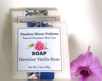 Hawaiian Vanilla Bean Soap