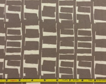 NEW Art Gallery Rush Hour Tan  on cotton Lycra  knit fabric 1 yard
