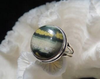 Ocean Jasper Ring Size 10