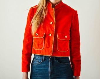Vintage Geoffrey Beene Corduroy Jacket
