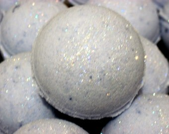 2 pack Fairy Dust Bath Bomb Fizzy - Handmade Natural Exfoliation (Gift idea, fun tub time) Individually packaged and labeled, Stardust Soaps