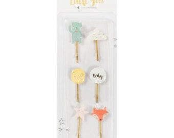 Little You Decorative Clips 6/Pkg (680400)